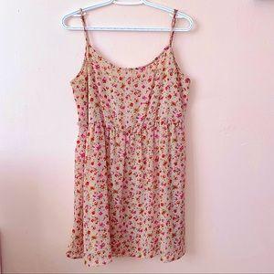 Short summer dress floral